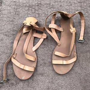 Madewell Sandals Brown  Leather